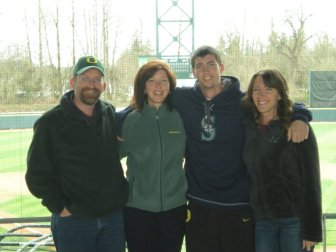 My family at Oregon's PK Park